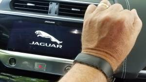 Jaguar's Activity Key – allows you to wear a key to the vehicle and not carry one with you.