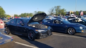 Alfa Romeo Giulia at Lafayette CO Cars and Coffee Aug 2019