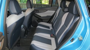 Subaru Crosstrek rear seat