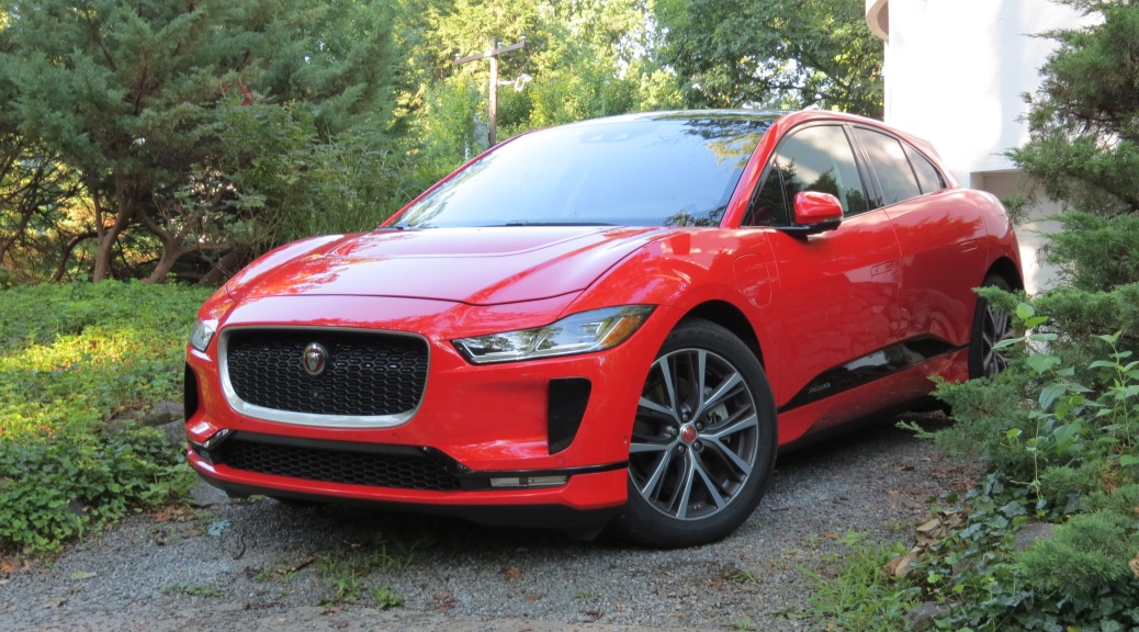 2019 Jaguar I Pace in Phantom Red
