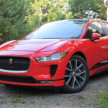 2019 Jaguar I Pace in Phantom Red