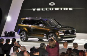 2016 Kia Telluride Revel at NAIAS