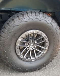 BF Goodrich KO All Terraine TA Tires on Ford Raptor