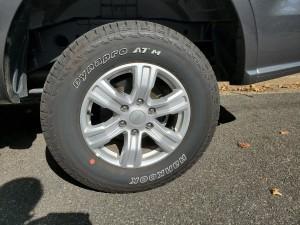 2019 Ford Ranger XLT Hankook Tires