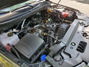 2019 Ford Ranger 2-liter engine uncovered