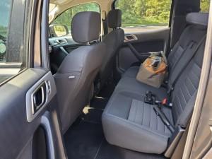2019 Ford Ranger XLT back seats