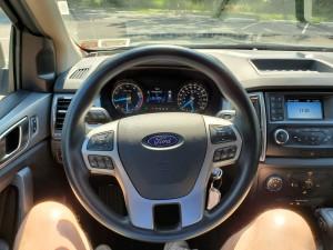 Steering wheel of the 2019 Ford Ranger XLT 4X4