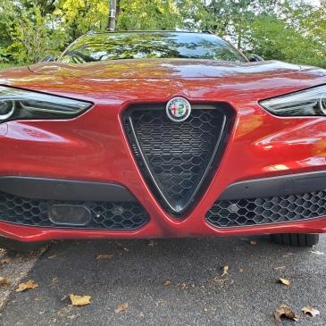 Alfa Romeo Stelvo Front End
