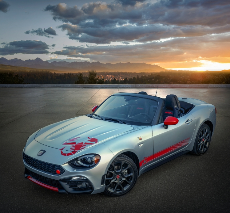 2020 Fiat 124 Spider Abarth Scorpion Sting Appearance Group