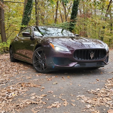 Maserati Quattroporte GTS GranSport in Rock Creek Park Washington DC