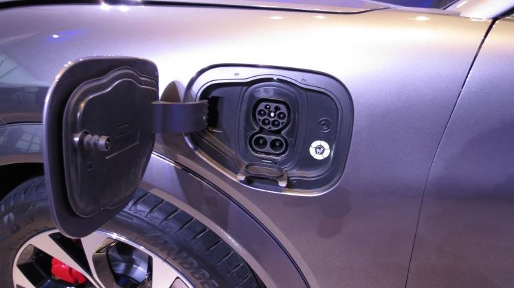 Ford Mache EV Plug