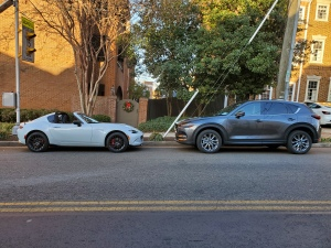 Mazda MX5 Miata and CX5 Signature AWD
