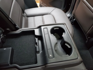 Mazda CX5 Rear Seat Controls