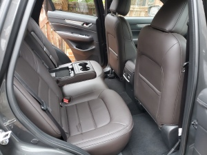 Mazda CX5 rear seats