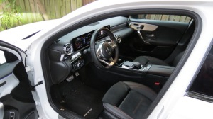 Left Front Seat of Mercedes Benz A220