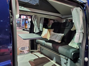 Inside the Mercedes Benz Metris Weekender Camper Van