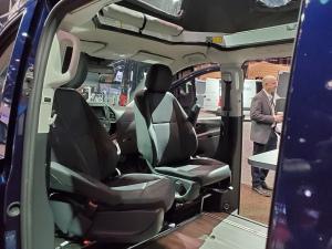 Front Seats of the Mercedes Benz Metris Weekender Camper Van