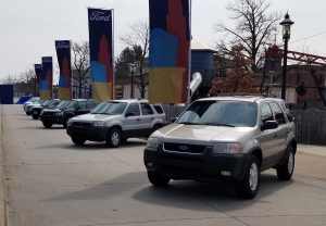 Ford Escape models at Deerfield Village Michigan