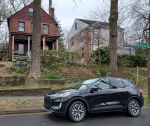 2020 Ford Escape Hybrid in Black in Washington DC