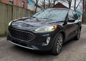 Ford Escape Titanium AWD Hybrid in Agate Black