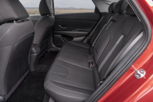 2021 Hyundai Elantra Rear Seat