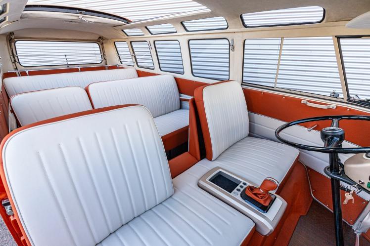 Volkswagen e-BULLI concept EV Bus interior