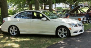 2011 Mercedes Benz C300 Sport in White
