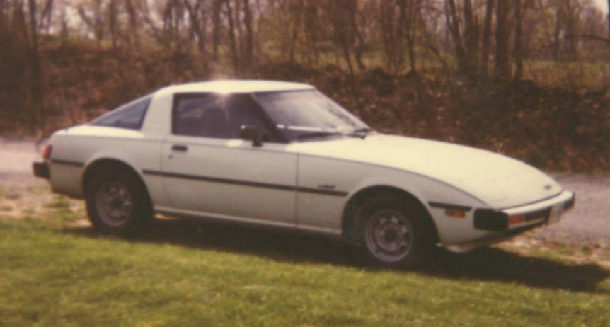 White 1979 Mazda RX7 GS