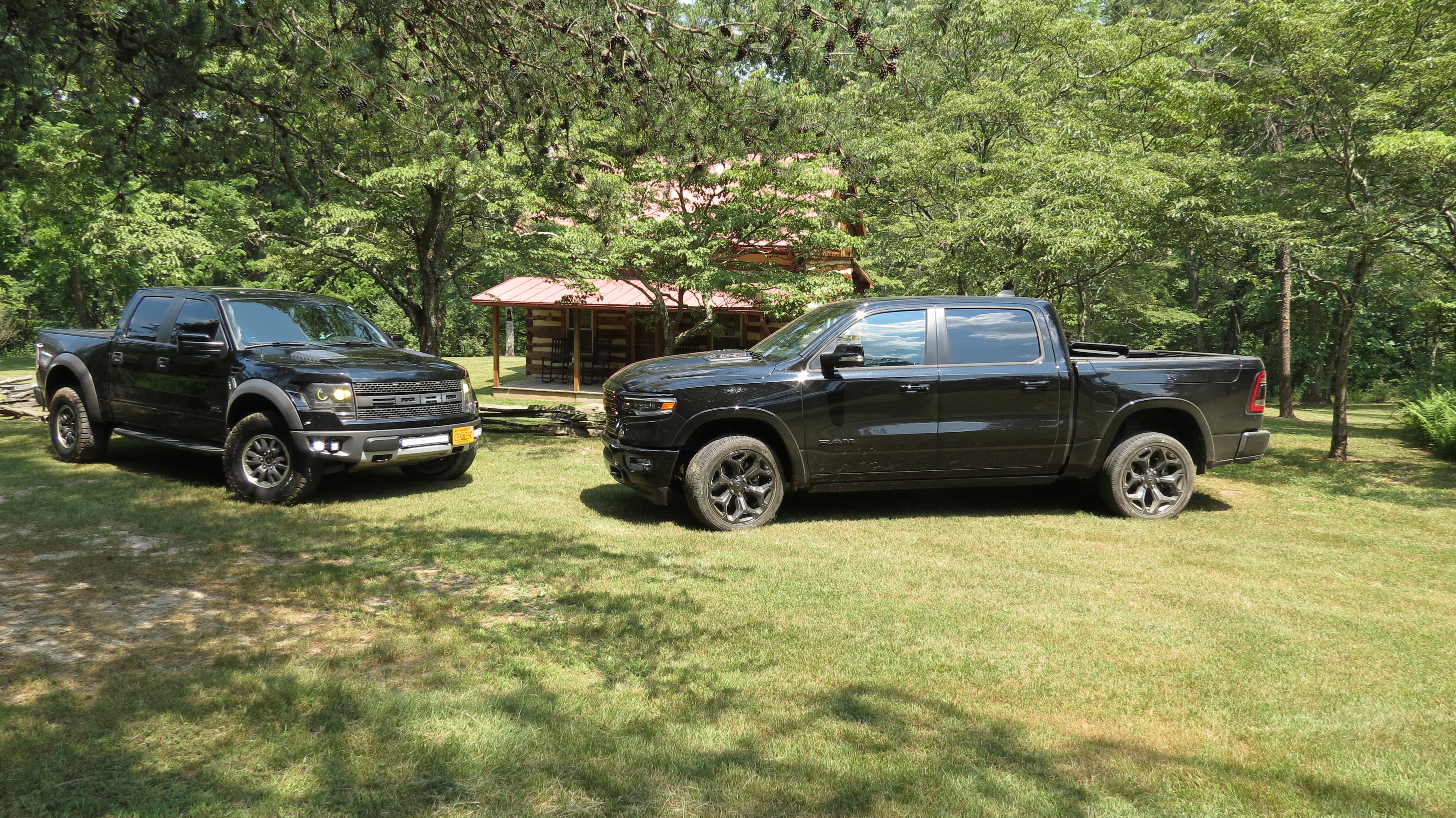Ram 1500 and early Ford Raptor