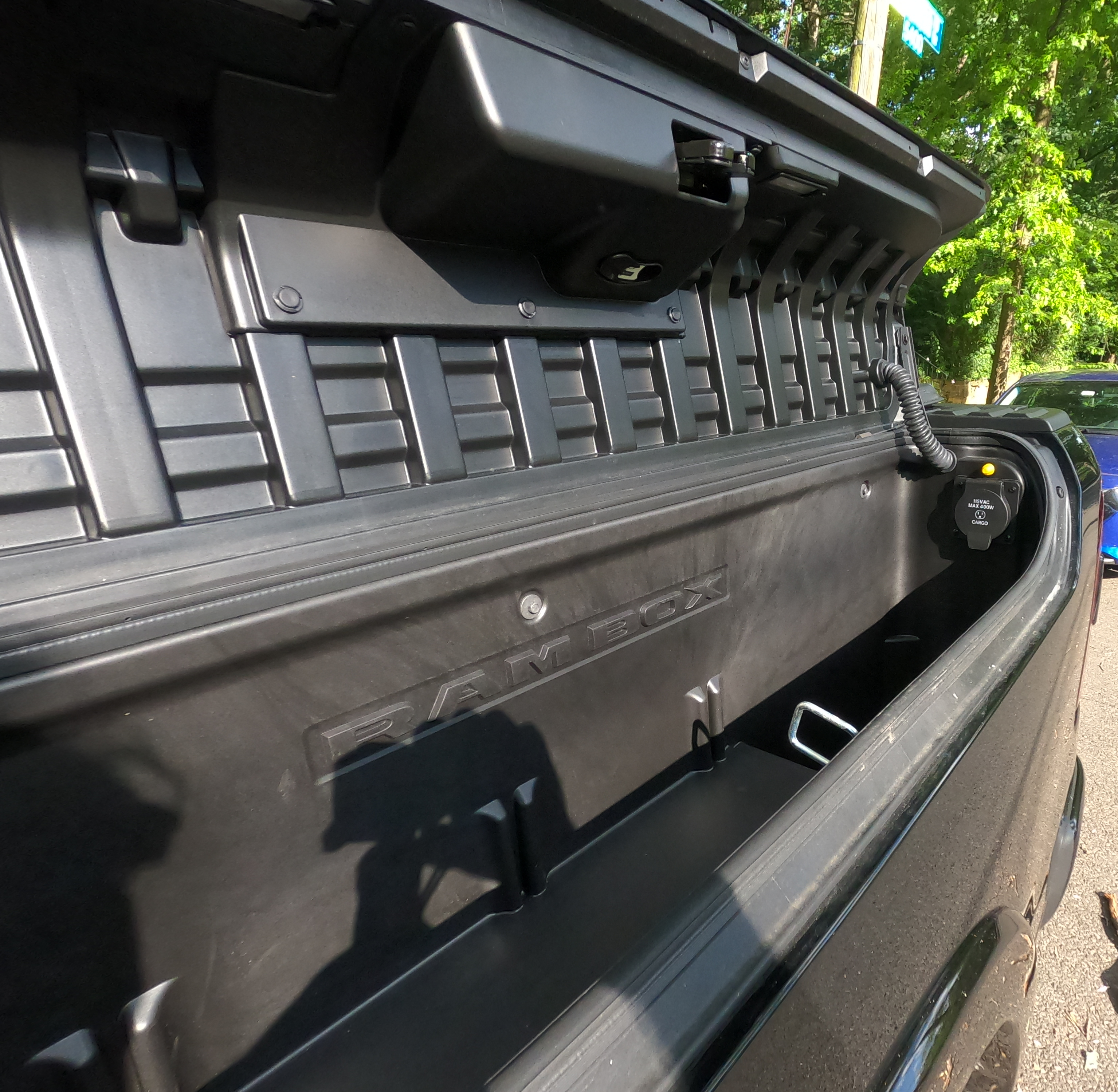 Ram 1500 Ram Box with power outlet