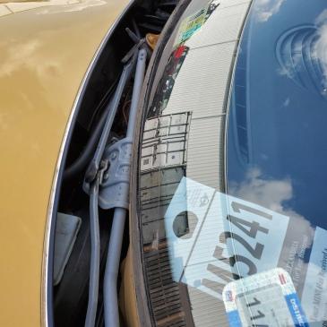 Service Sticker on Dash
