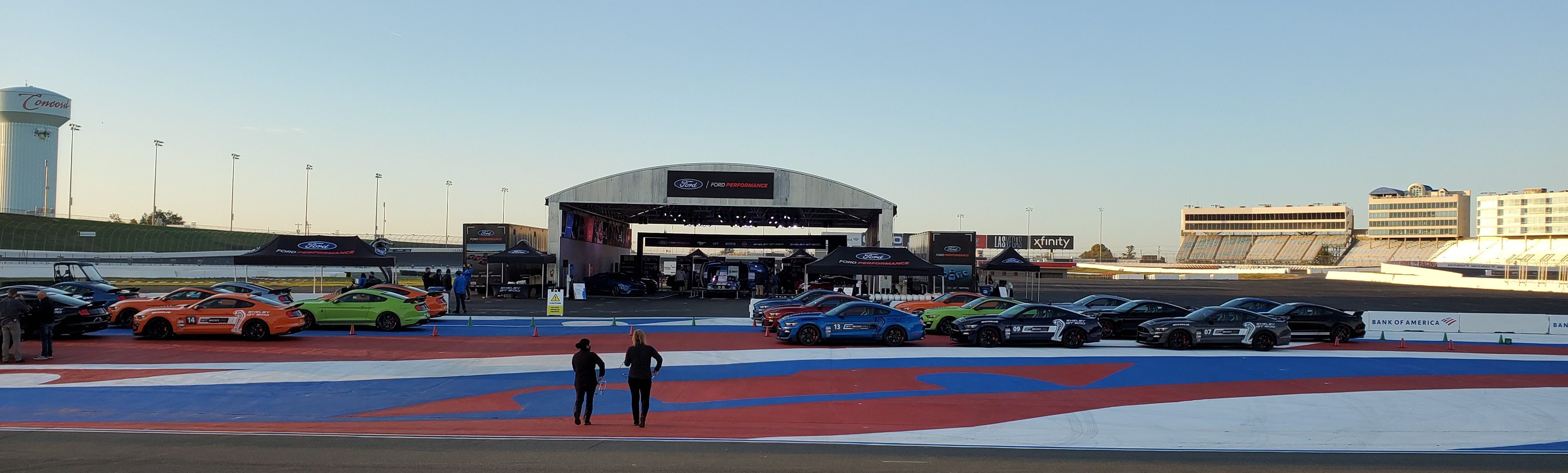 2020 Ford Shelby GT 500 North American Track Tour Charlotte Motor Speedway Oct 19 2020