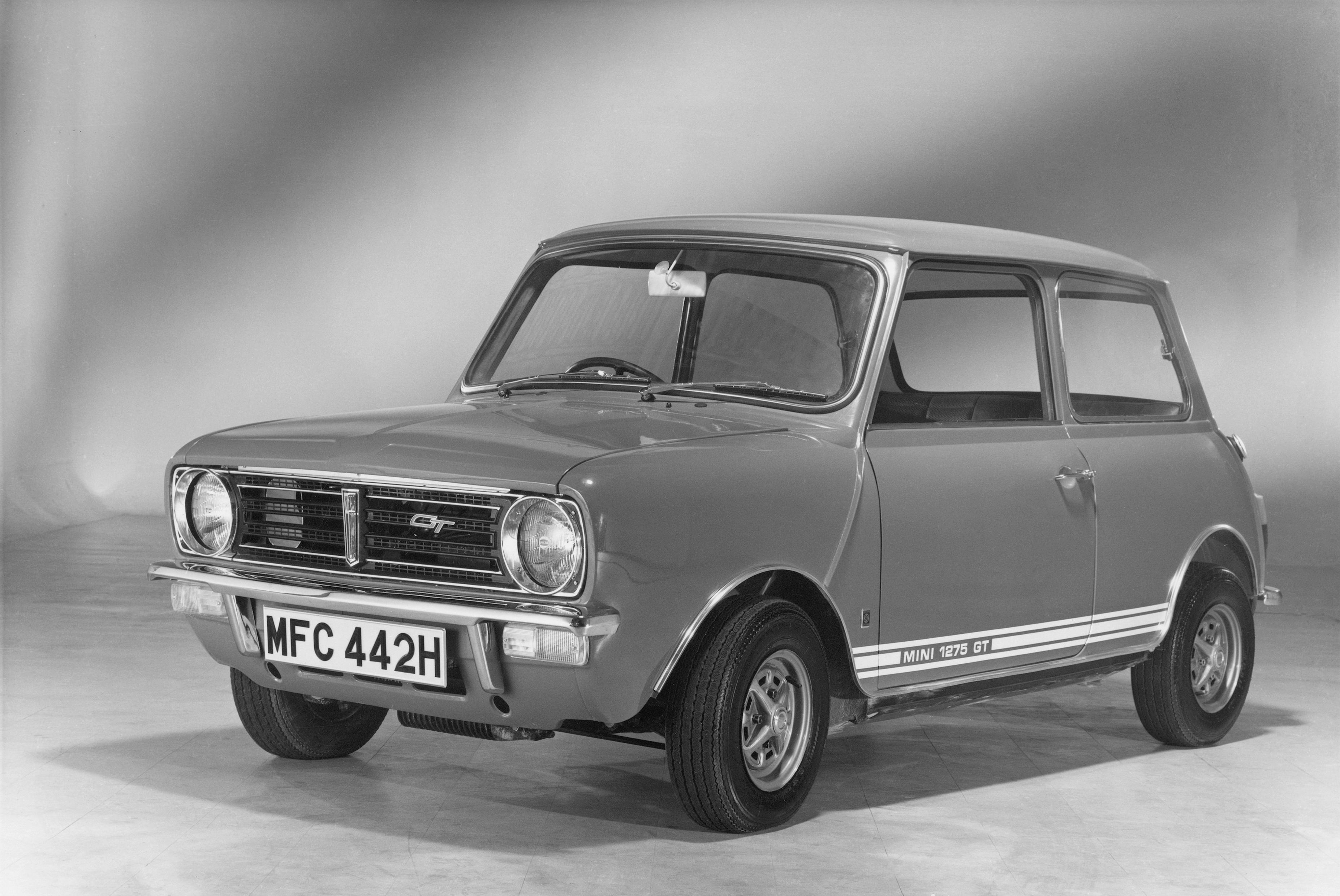 Classic 1960s Mini 1275 GT