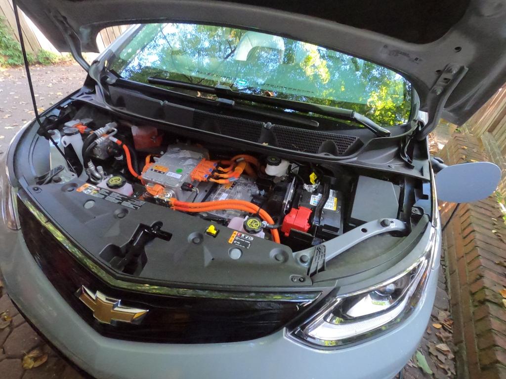 Chevrolet Bolt EV engine compartment