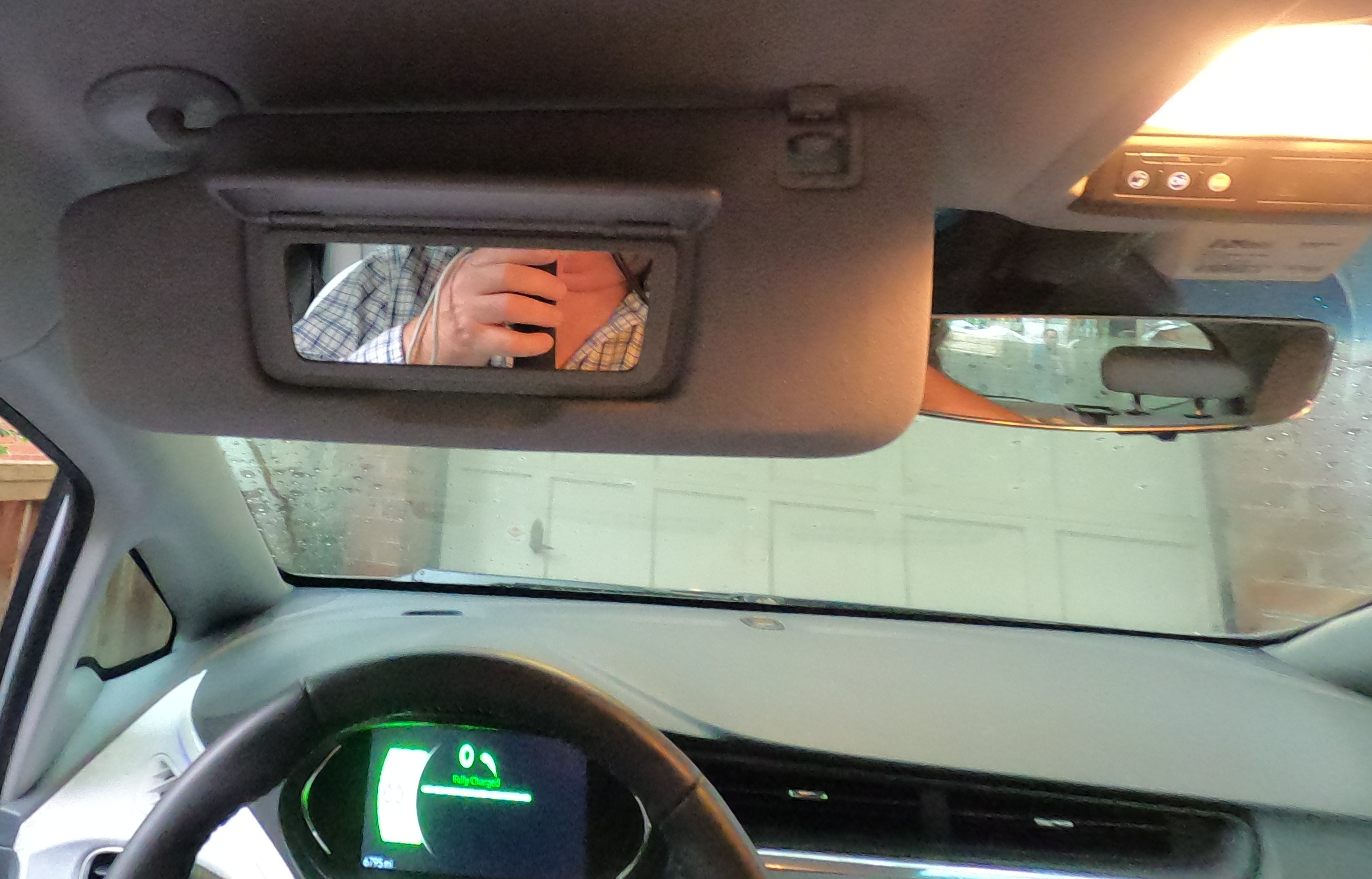 Chevrolet Bolt EV inside mirrors