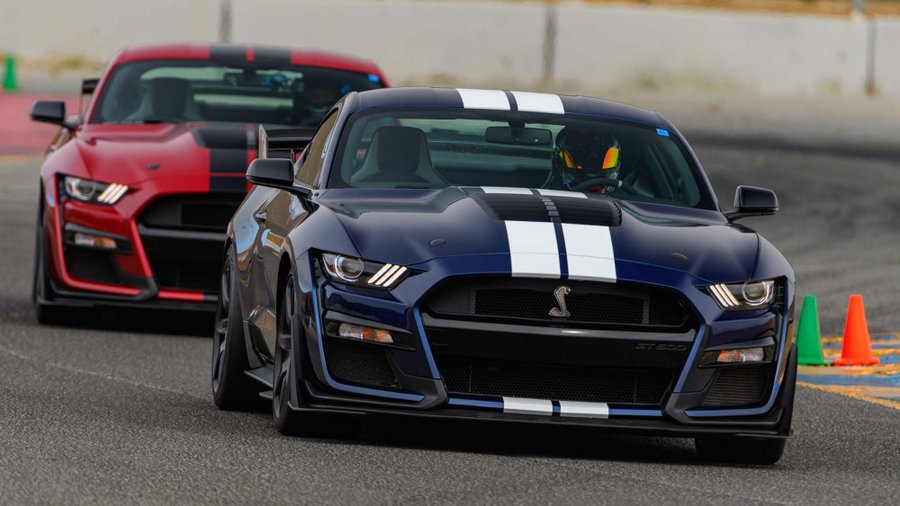 Track Shot of the SHELBY GT 500