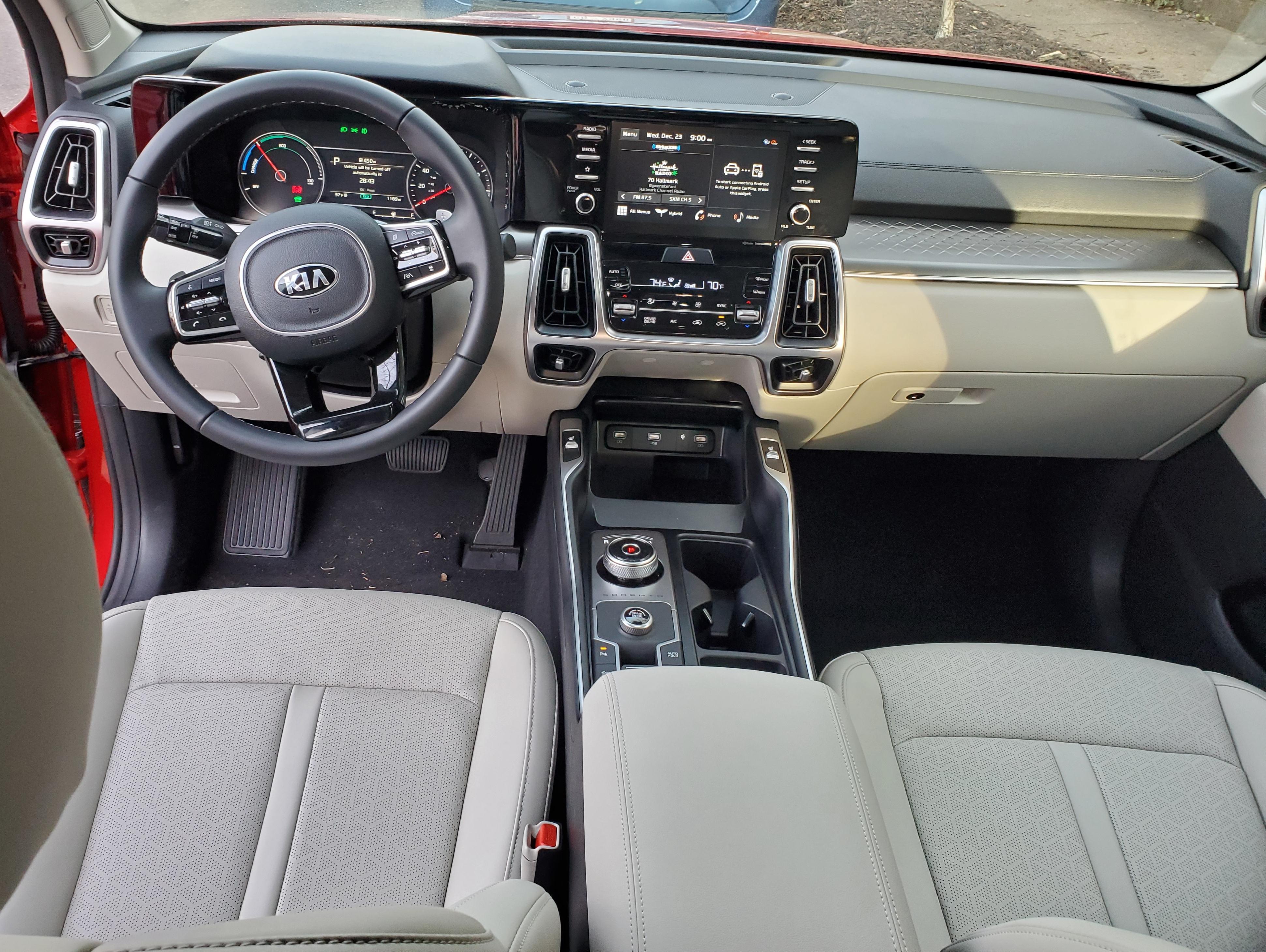 2021 Kia Sorento Cockpit