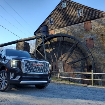 2021 GMC Yukon Denali at Old Mill in Harford County MD