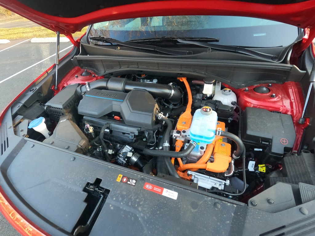 2021 Kia Sorento 1.6- liter Turbocharged Hybrid Engine