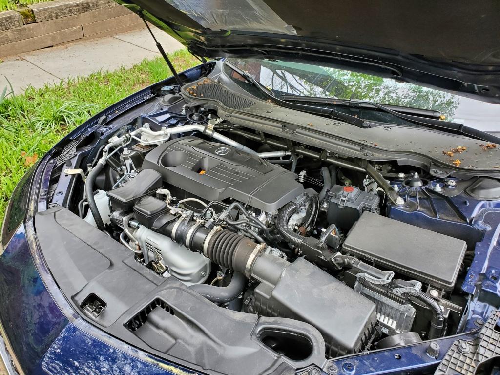 2021 Acura TLX 4 cylinder turbo Engine