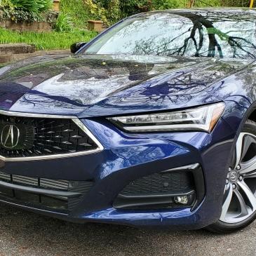 2021 Acura TLX in Advanced Trim