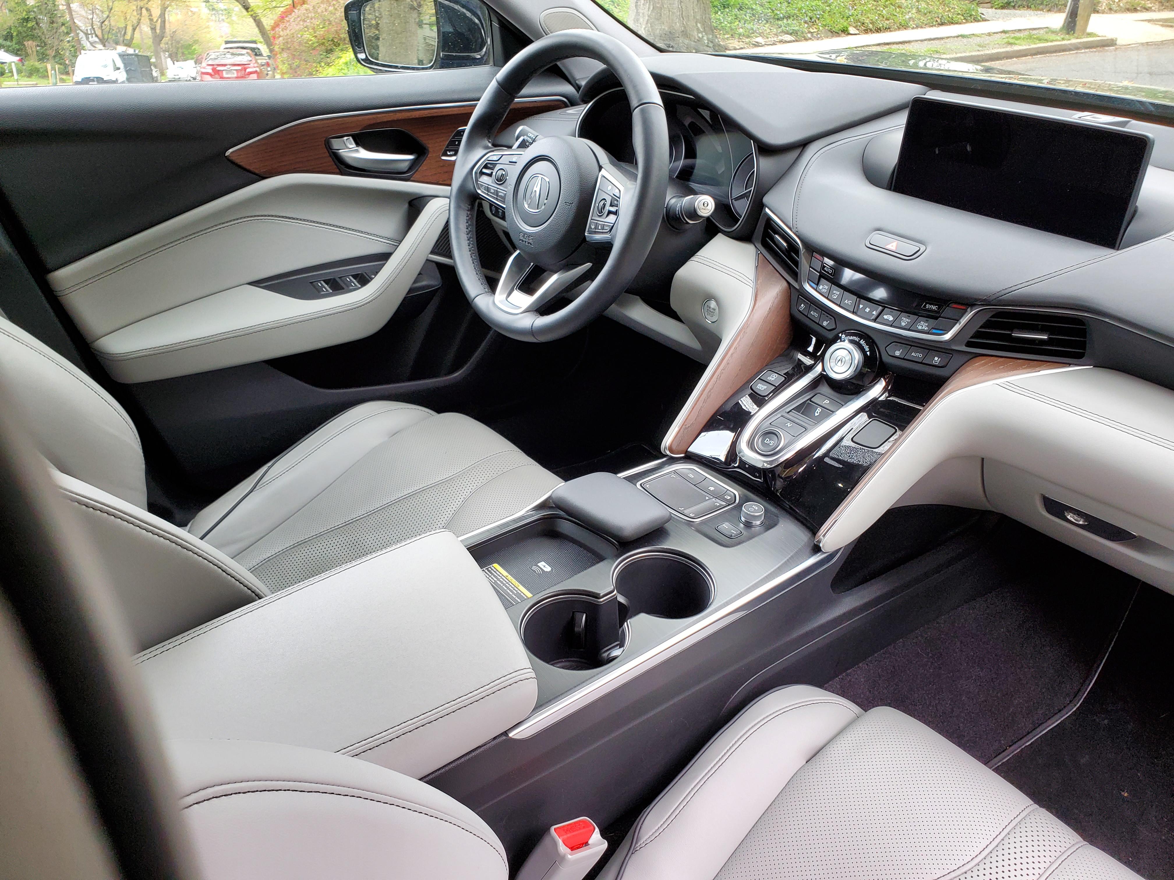 2021 Acura TLX Interior Right Side