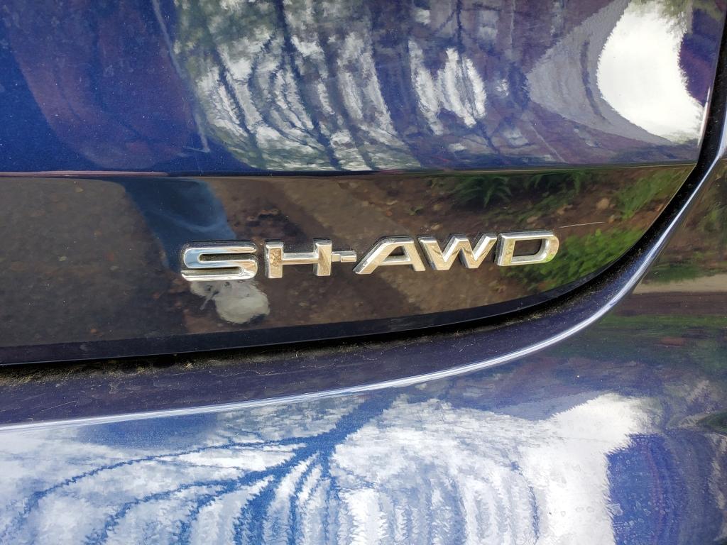 2021 Acura TLX SH AWD badge