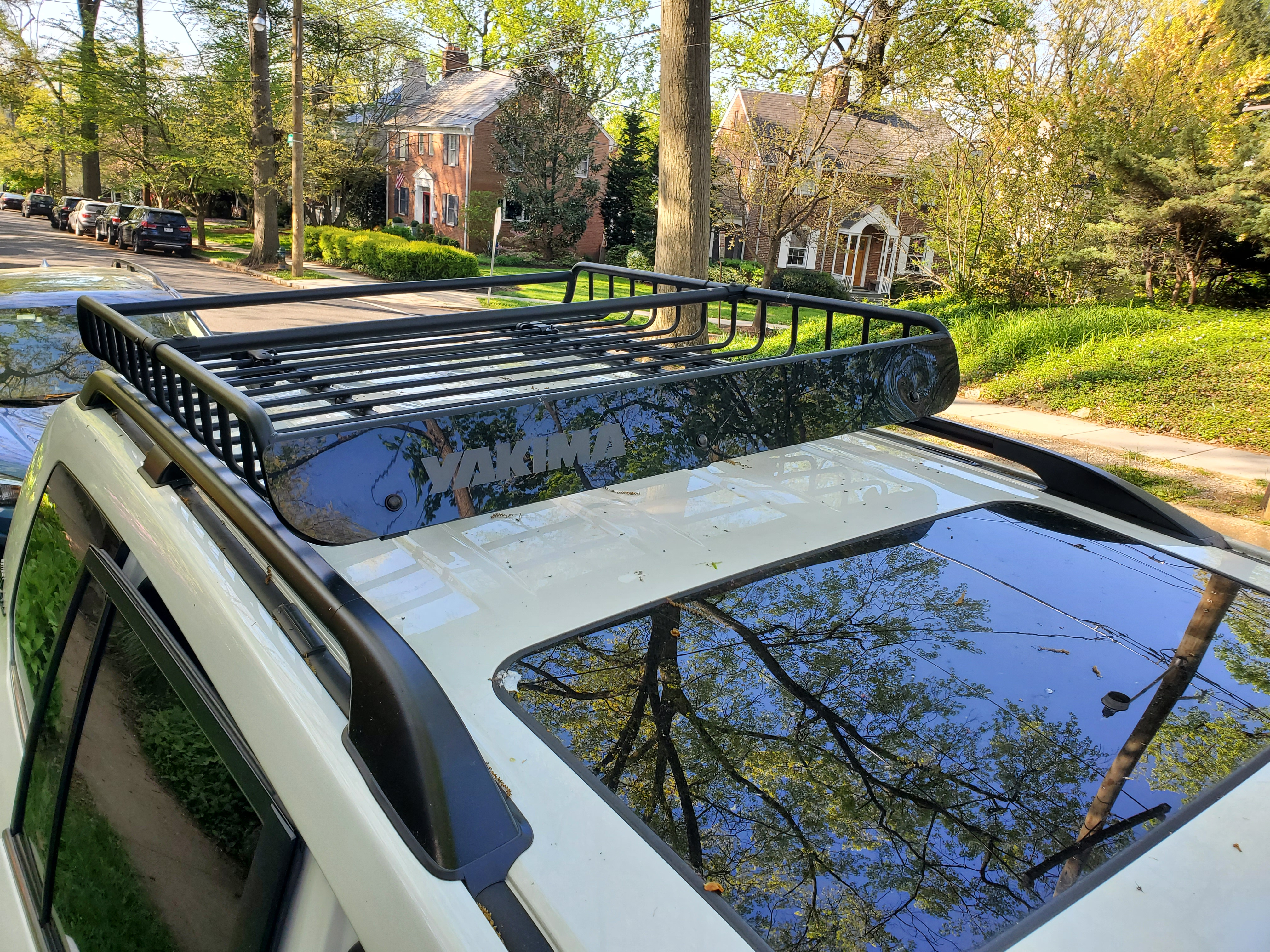 Heritage Edition Toyota Land Cruiser features a Yakima Roof Rack