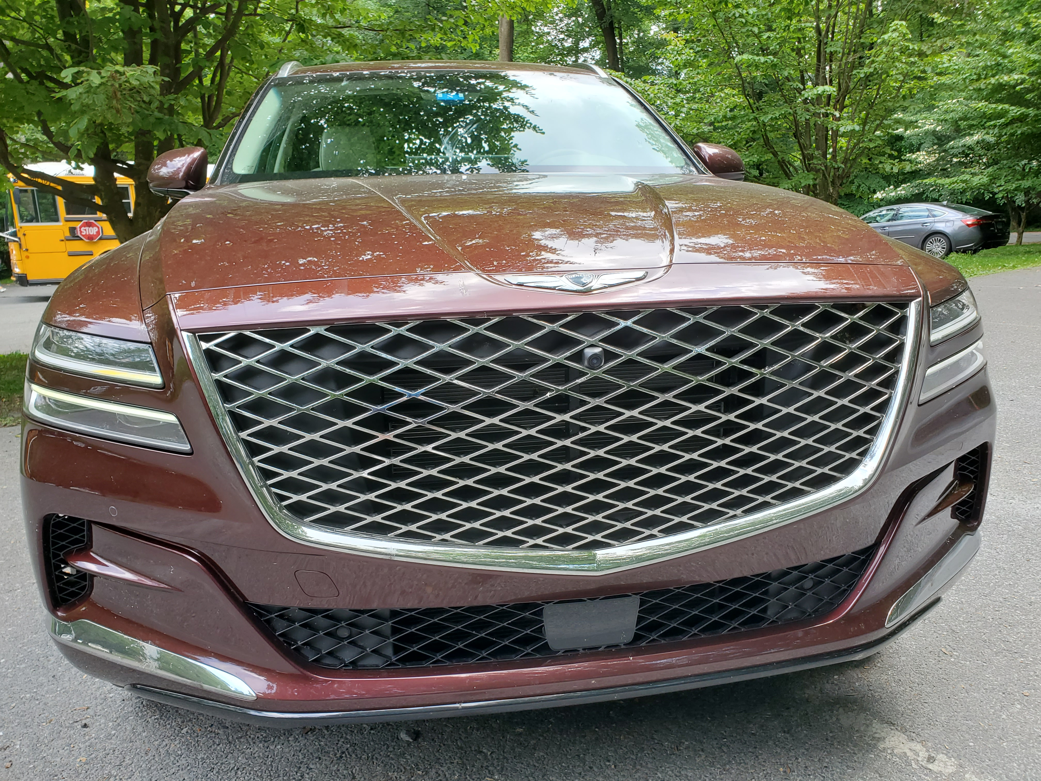 Genesis GV80 front grill